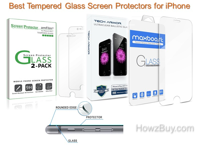 Best Tempered Glass Screen Protectors for iPhone