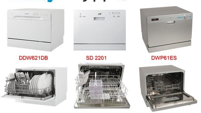 Countertop Dishwashers Danby Vs Spt