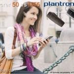 Plantronics Explorer 50 vs M55 Wireless Bluetooth Headsets Compared