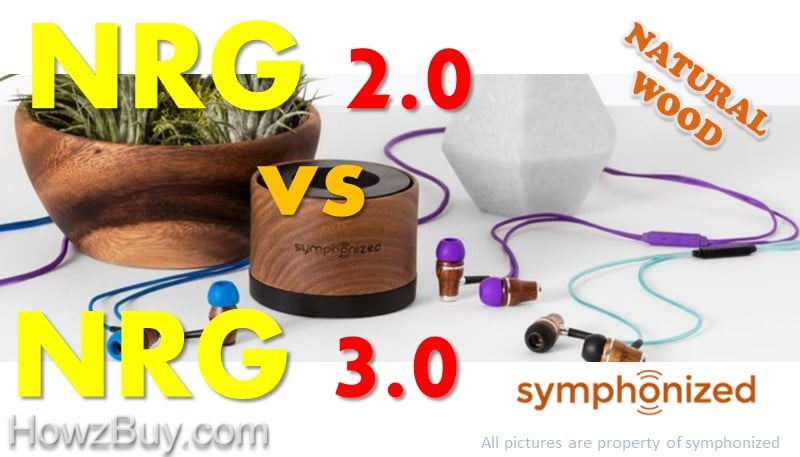 Symphonized NRG 2.0 vs NRG 3.0 Comparison and review