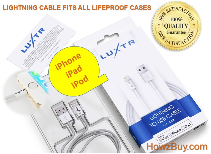 lightning cable that fits lifeproof case