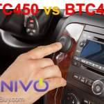 Kinivo BTC450 vs BTC455 Bluetooth Hands-Free Car Kit Comparison [updated]