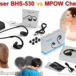 Phaiser BHS-530 vs MPOW Cheetah Bluetooth Headphones Comparison