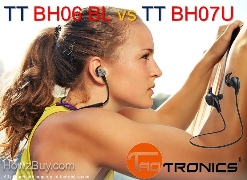 TaoTronics TT-BH06 vs TT-BH07U Upgrade Compare