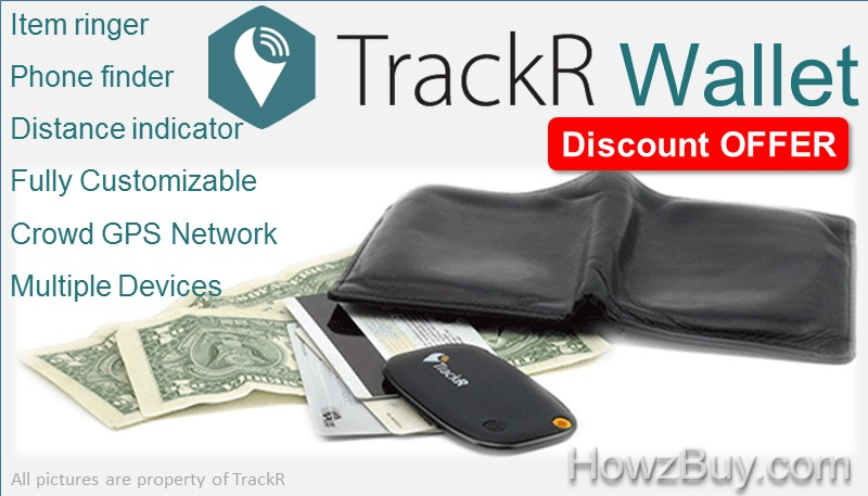 TrackR Wallet Discount Offer