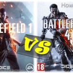 Battlefield 1 vs Battlefield 4