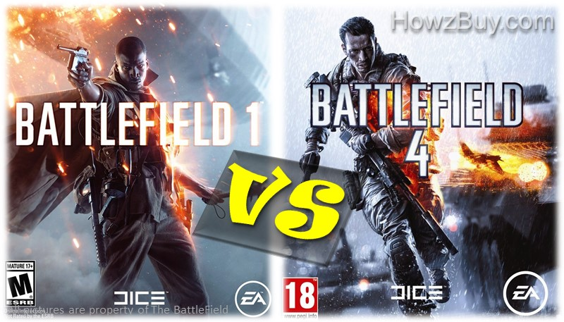 battlefield 1 vs battlefield 4 which is better