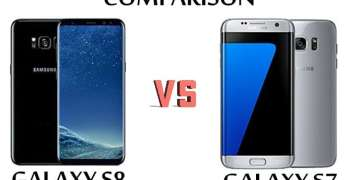 Samsung Galaxy S8 vs Samsung Galaxy S7 Comparison