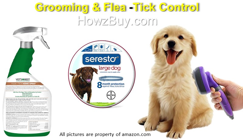 Grooming & Flea, Tick Control for Dog