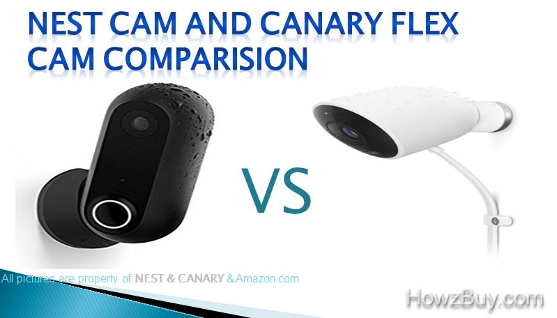NEST AND CANARY FLEX CAM