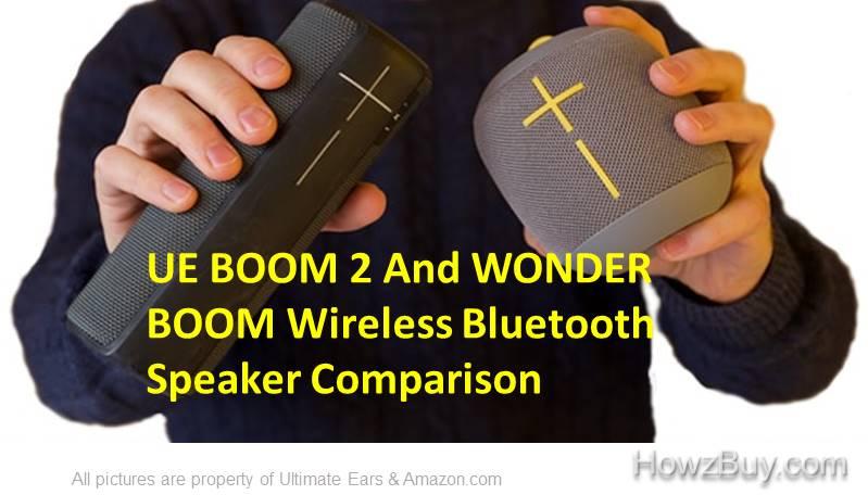 UE BOOM 2 vs UE WONDERBOOM Phantom Bluetooth Speakers Comparison