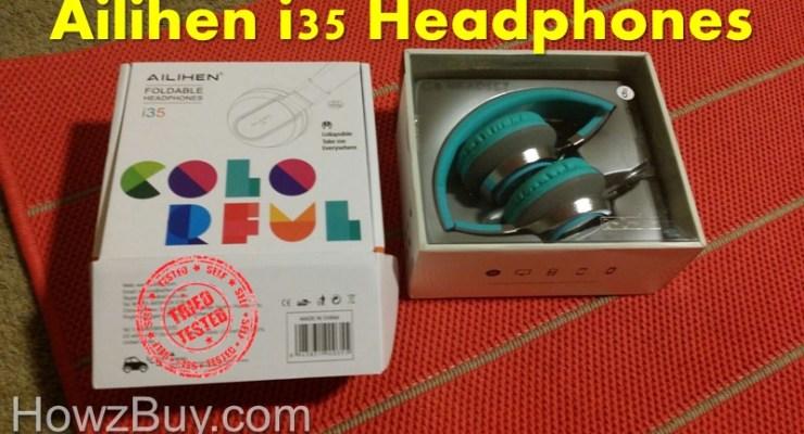 ailihen i35 headphones review