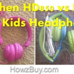 Ailihen HD850 vs HD30 Kids Headphones Review and Comparison