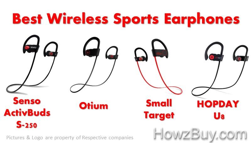 Best Wireless Ipx7 Waterproof Sports Earphones Under