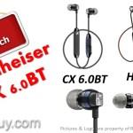 Sennheiser CX 6.0BT vs HD1 Free Bluetooth Wireless Headphones comparison