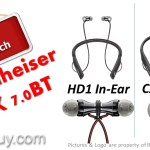 Sennheiser HD1 In-Ear vs CX 7.00BT Wireless In-Ear Bluetooth Headphones Comparison