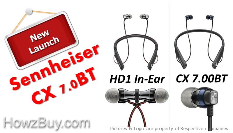 Sennheiser HD1 In-Ear vs CX 7.00BT Wireless In-Ear Bluetooth Headphones Comparison & review