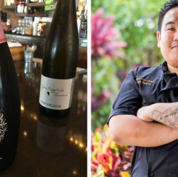 chef isaiah badua and wine pairings