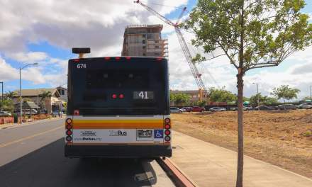 Kapolei Bus News: One Big Route Change And More All-Day Service