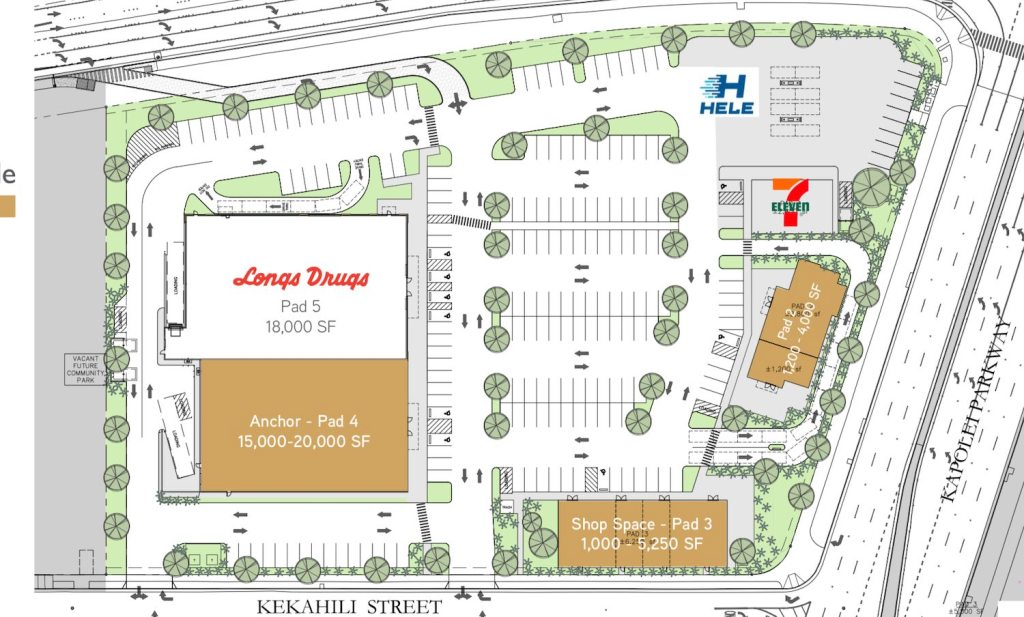 plans for shopping center on kapolei parkway