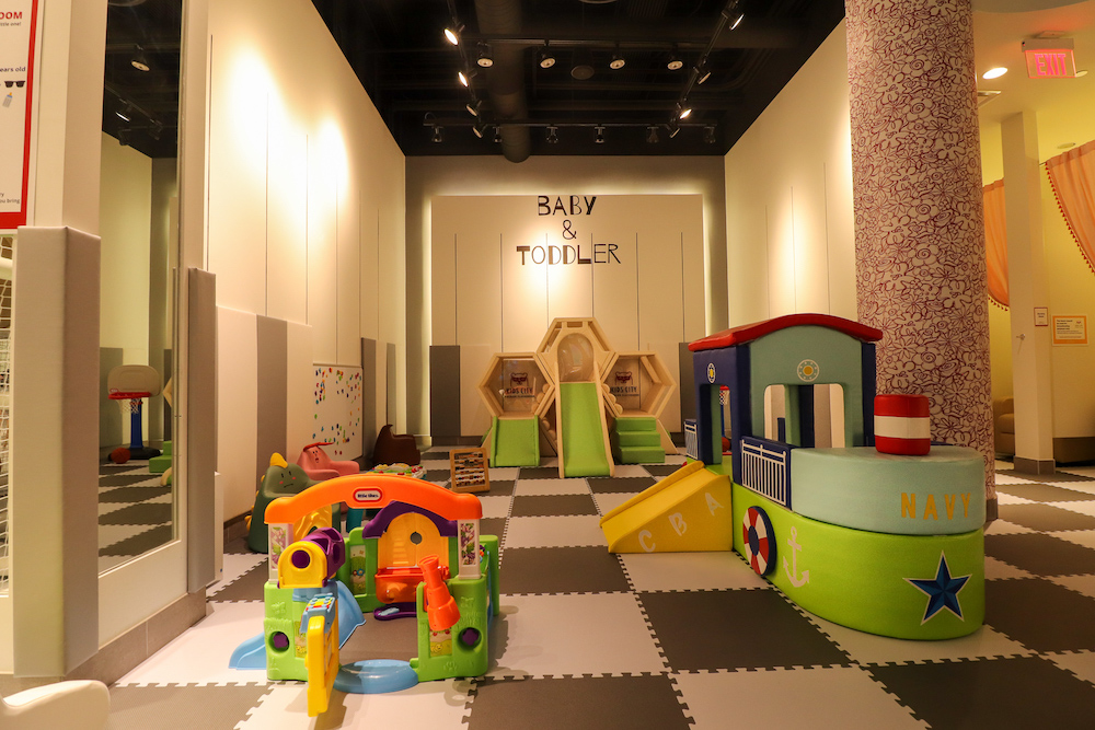 kids city baby toddler area