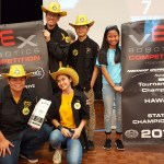 Kohala High Schools Na Paniolo Team 2460A, Co-Tournament Champs!