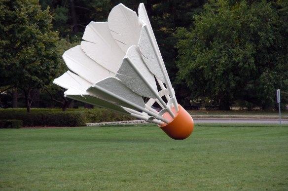 Nelson Atkins Museum shuttlecock