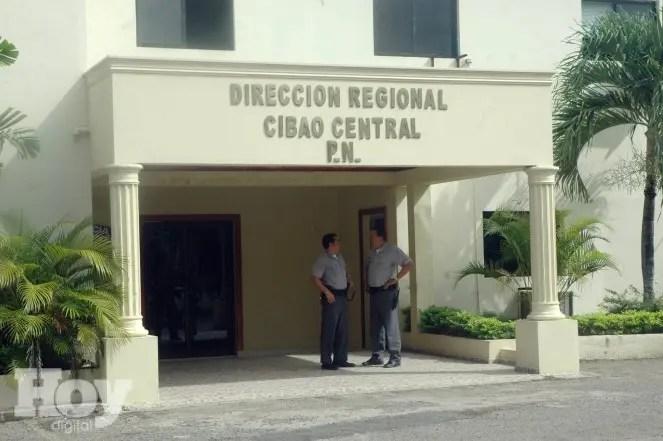 FACHADA POLICIA NACIONAL  SANTIAGO
