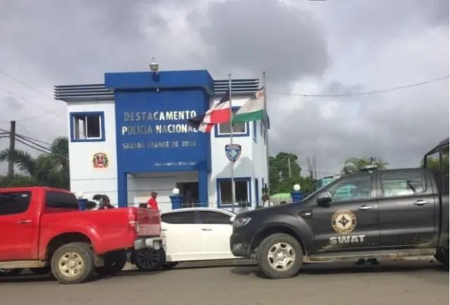 Cuartel Municipal de Sabana Grande de Boyá.