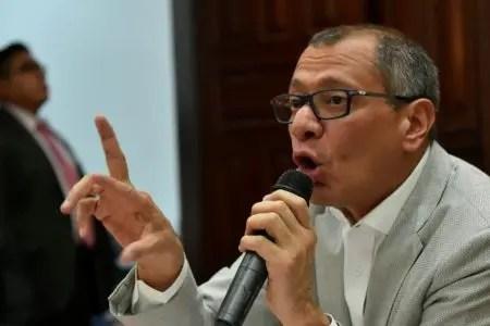 Jorge Glas.