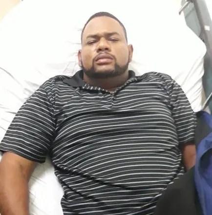 Manuel Antonio Regalado hospitalizado en Centro Médico Moderno