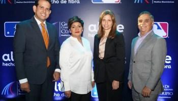 Dorian Rodríguez, Soraida Soto, Ana Figuereido y Valentin Baez