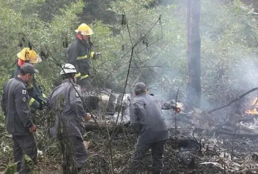 Brasil: Siete muertos al estrellarse una avioneta