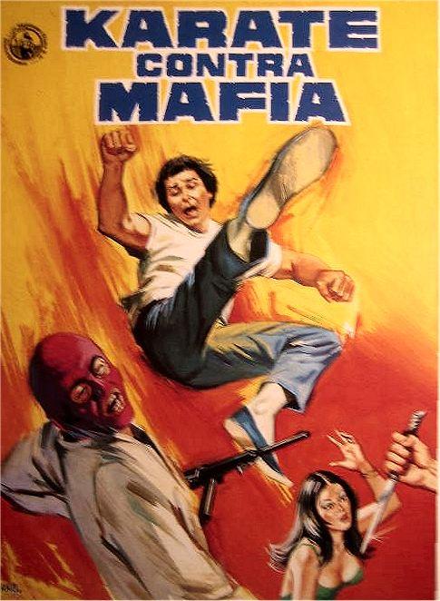Karate contra Mafia Poster