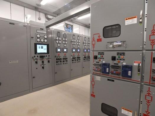 Zona de control eléctrico.