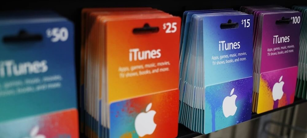 Tarjeta Regalo iTunes
