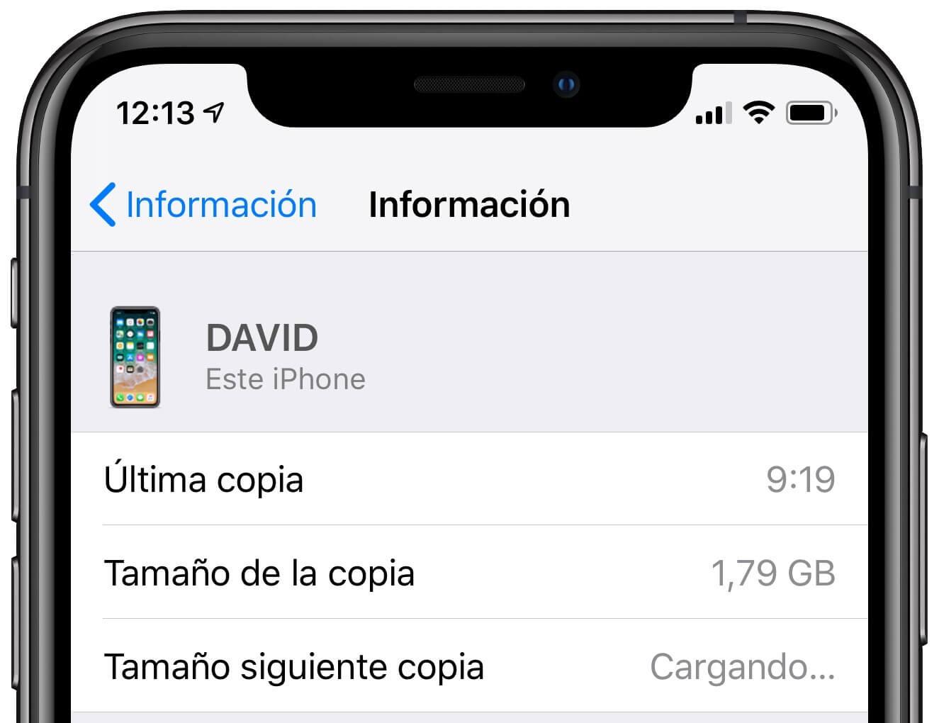 Copia iCloud