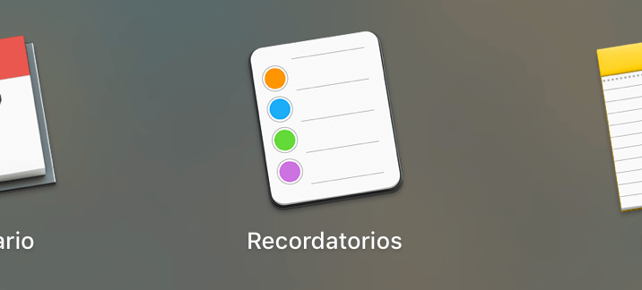 Recordatorios