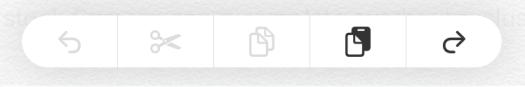 Barra copiar iOS 13