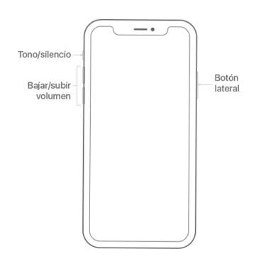 Botones iPhone 11