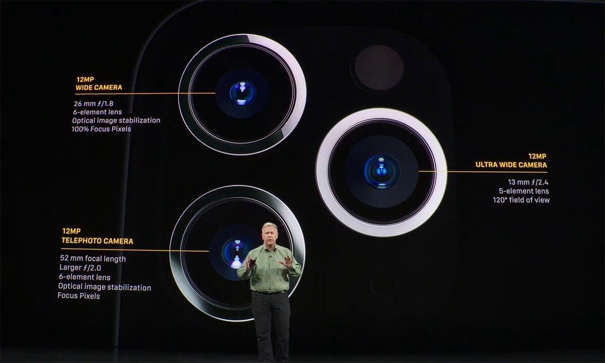 Cámara iPhone 11 Pro Keynote