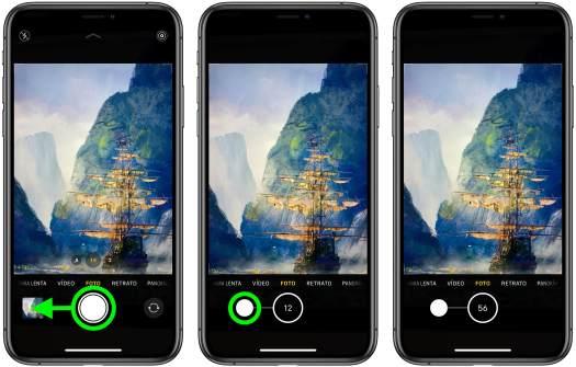 Ráfaga fotos iPhone 11