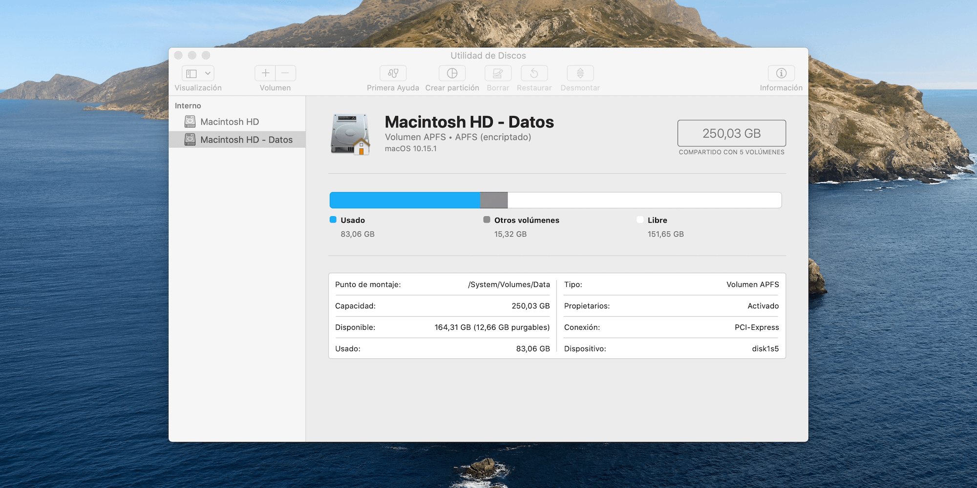 Macintosh HD Datos Hero