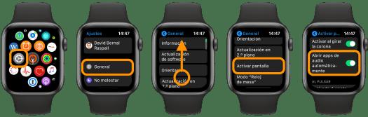 App audo watch