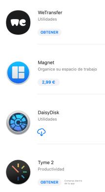 Compras App Store