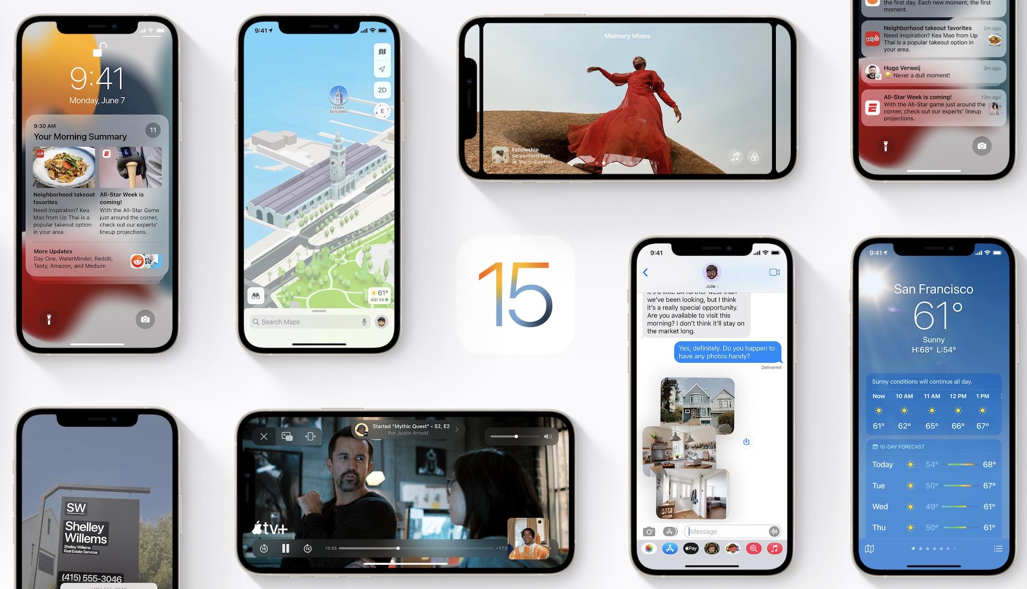 ¿Cuándo llegará iOS 15 de forma oficial?