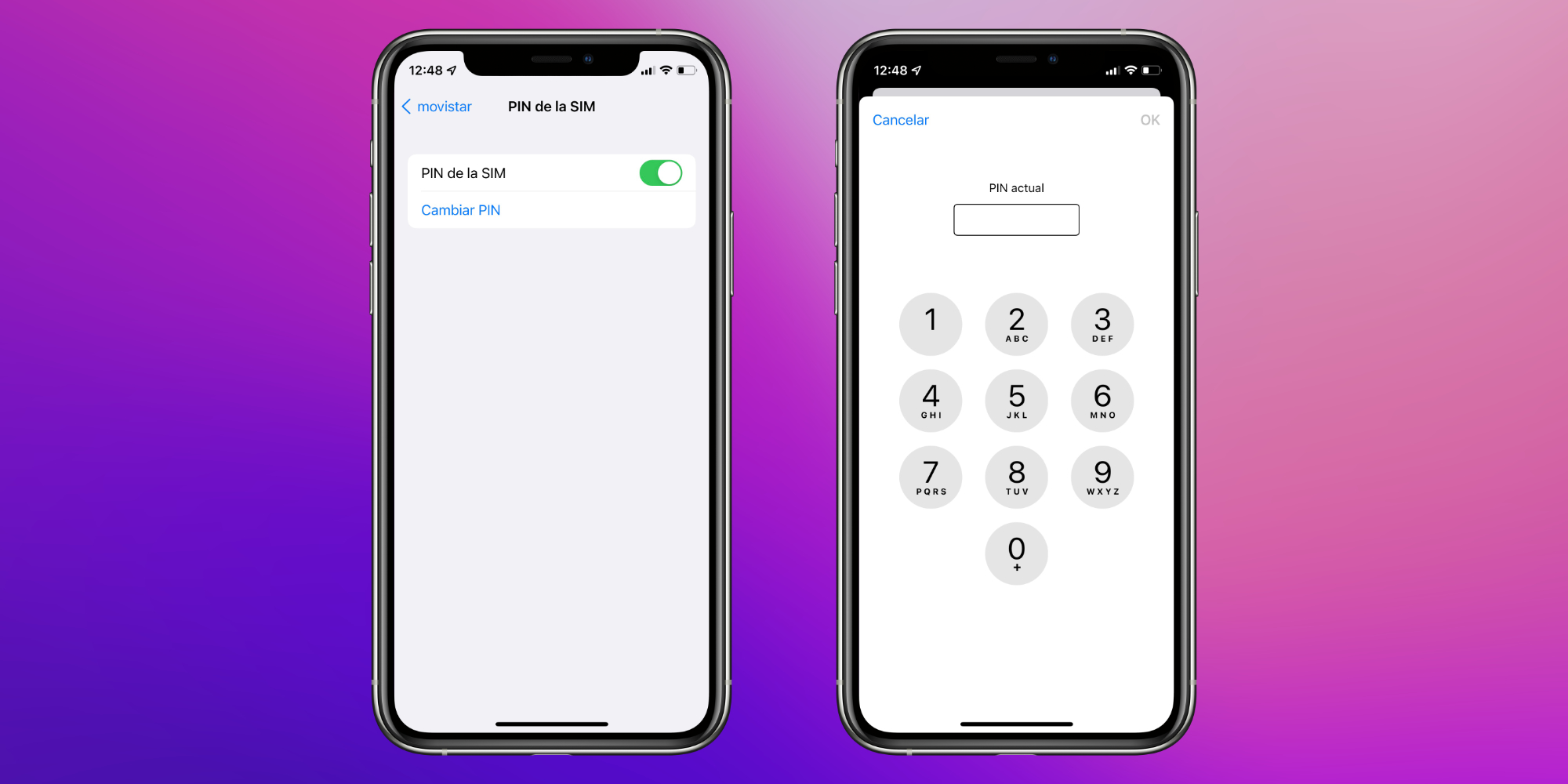Cómo cambiar o desactivar el PIN de la SIM de nuestro iPhone
