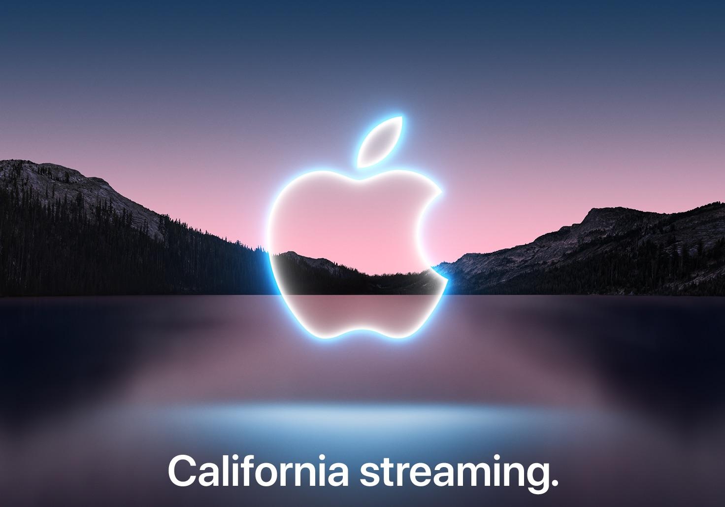 El evento de los iPhone 13, California Streaming, ya tiene fecha: el próximo día 14 de septiembre