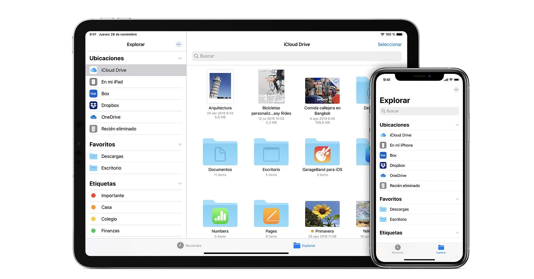 Cómo usar Dropbox, One Drive, Google Drive y otros directamente en la app Archivos de nuestro iPhone o iPad