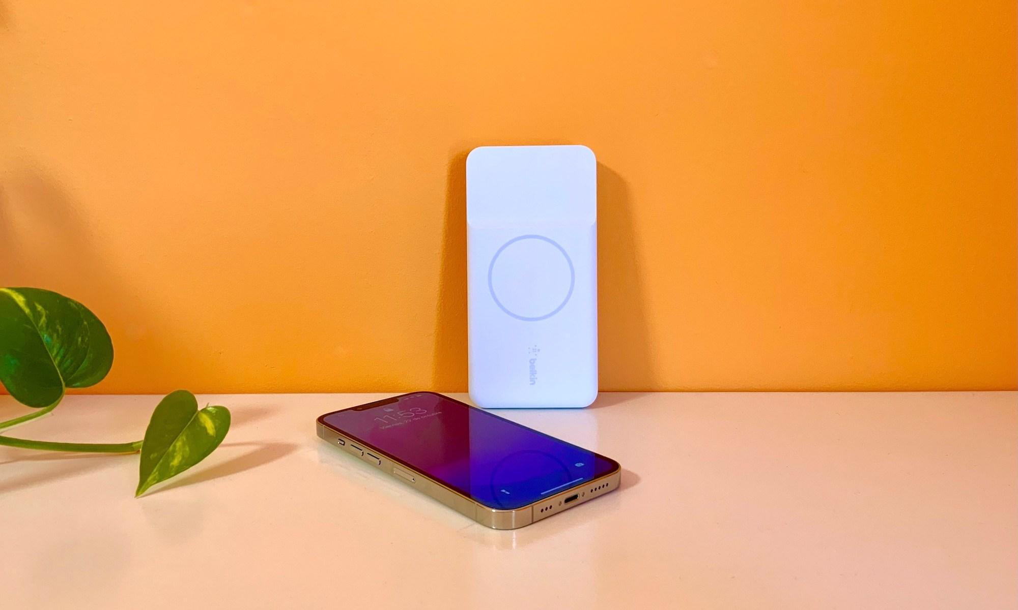 Magnetic Portable Wireless de Belkin, una gran batería MagSafe para disfrutar más horas de nuestro iPhone